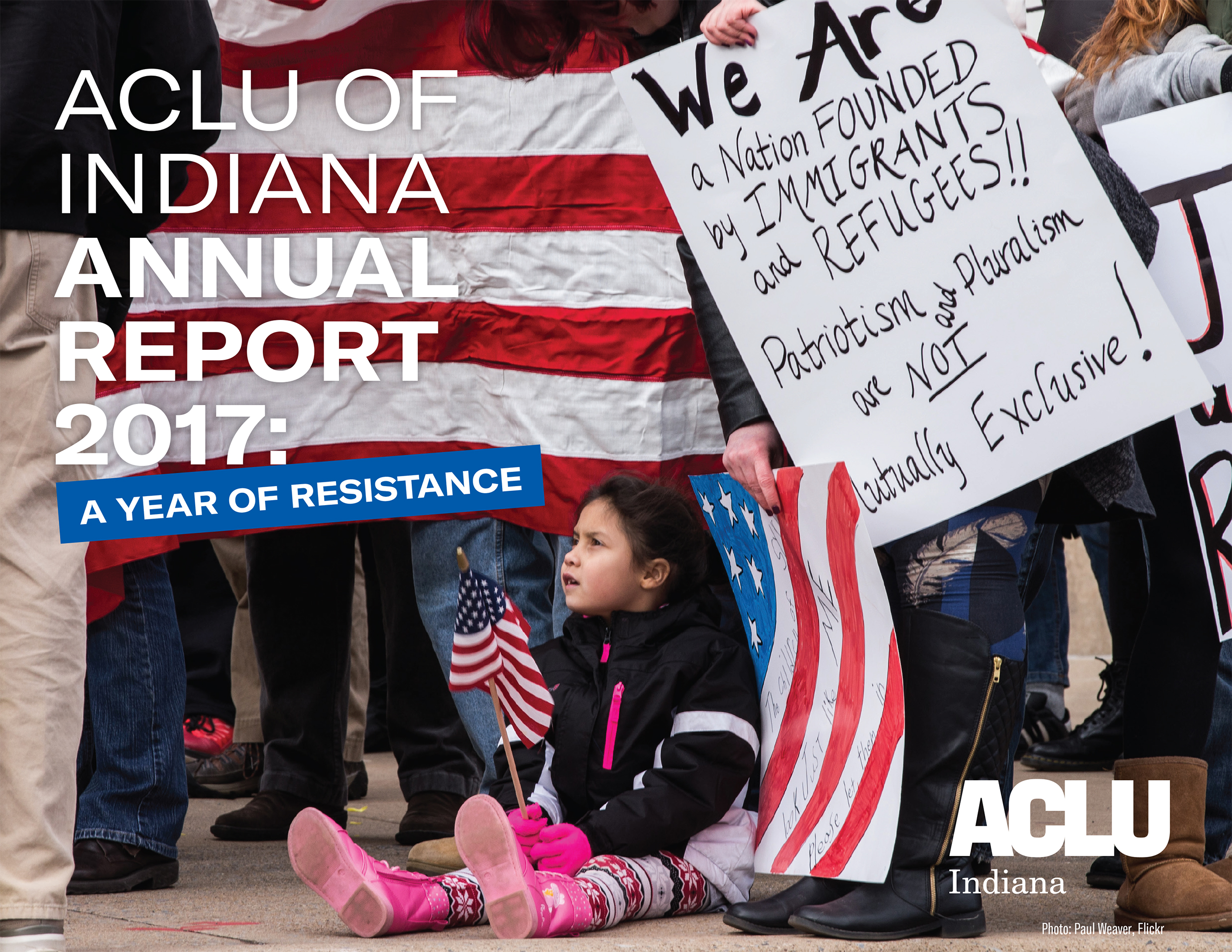 ACLU of Indiana's 2017 annual report
