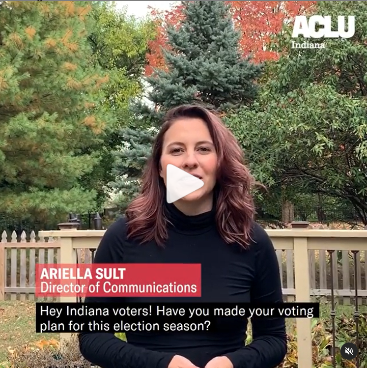 Absentee Voting in Indiana Need to Know Video