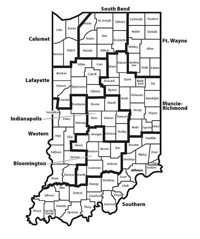 regional map 2018