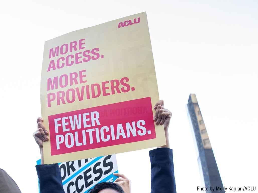 More access. More providers. Fewer politicians.