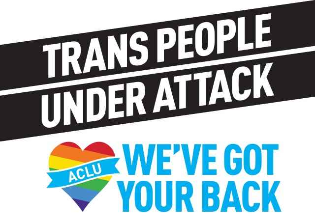 Trans people under attack