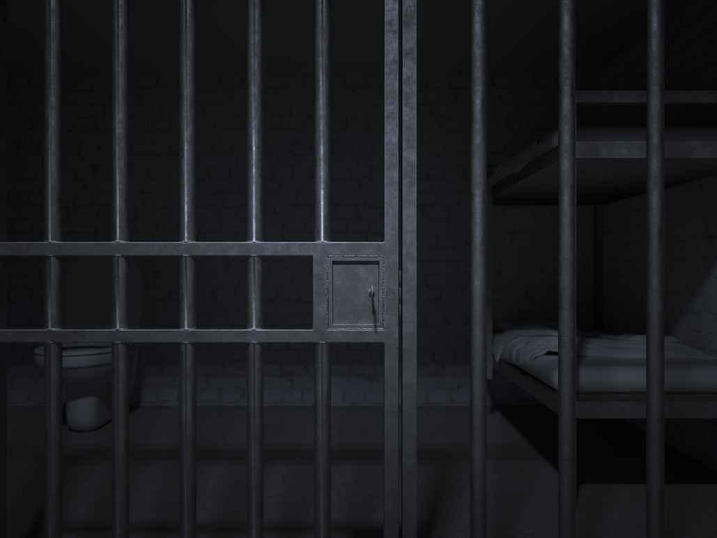 Dark Jail Cell